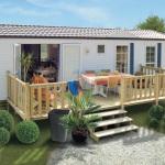 Terrasse du Lys - terrasse simple pour mobilhome