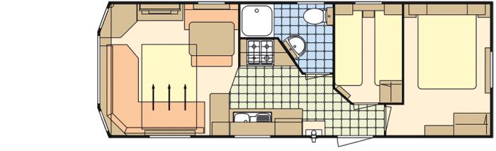 Atlas Florida 28x10 - 2 Chambres