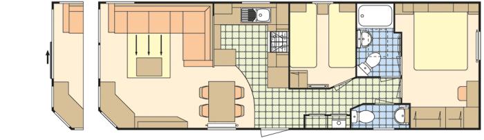 Atlas Heritage 35x12 - 2 Chambres