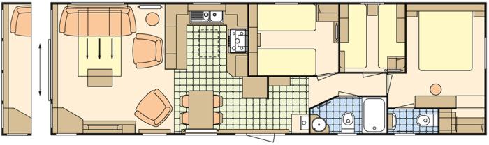 Atlas Image 40x12.6 - 3 Chambres