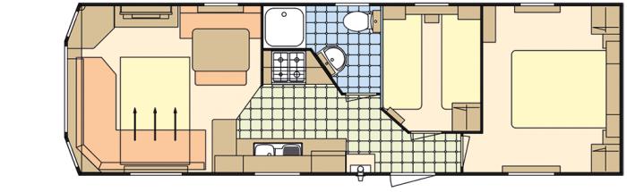 Atlas Florida 32x10 - 2 Chambres
