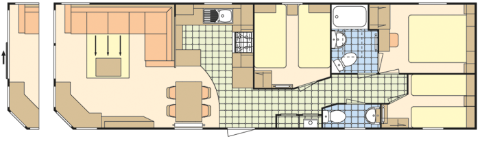 Atlas Heritage 39x12 - 3 Chambres