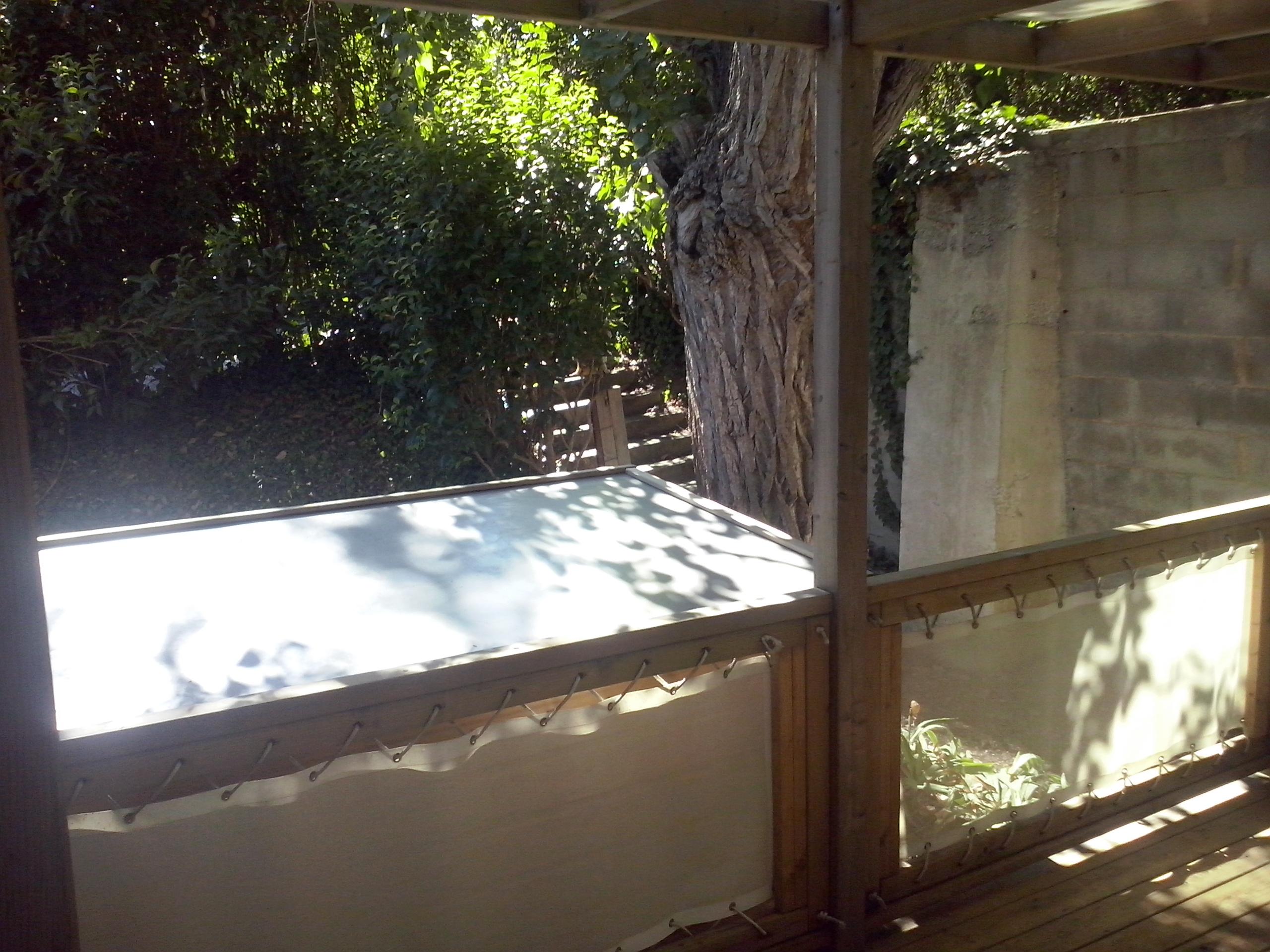 SunRoller année 2007 – 2 chambres – 2 terrasses – sur parcelle