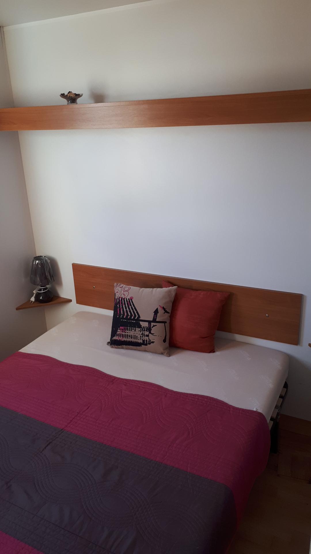 O'HARA – 2 Chambres – 8m50 x 3 – Toit 2 pentes – Climatisé