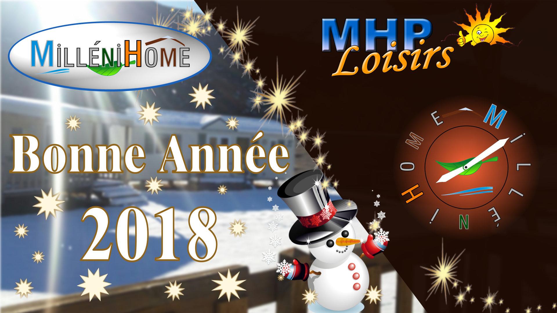 MHP Loisirs et MilléniHome vous présente leurs meilleurs vœux !