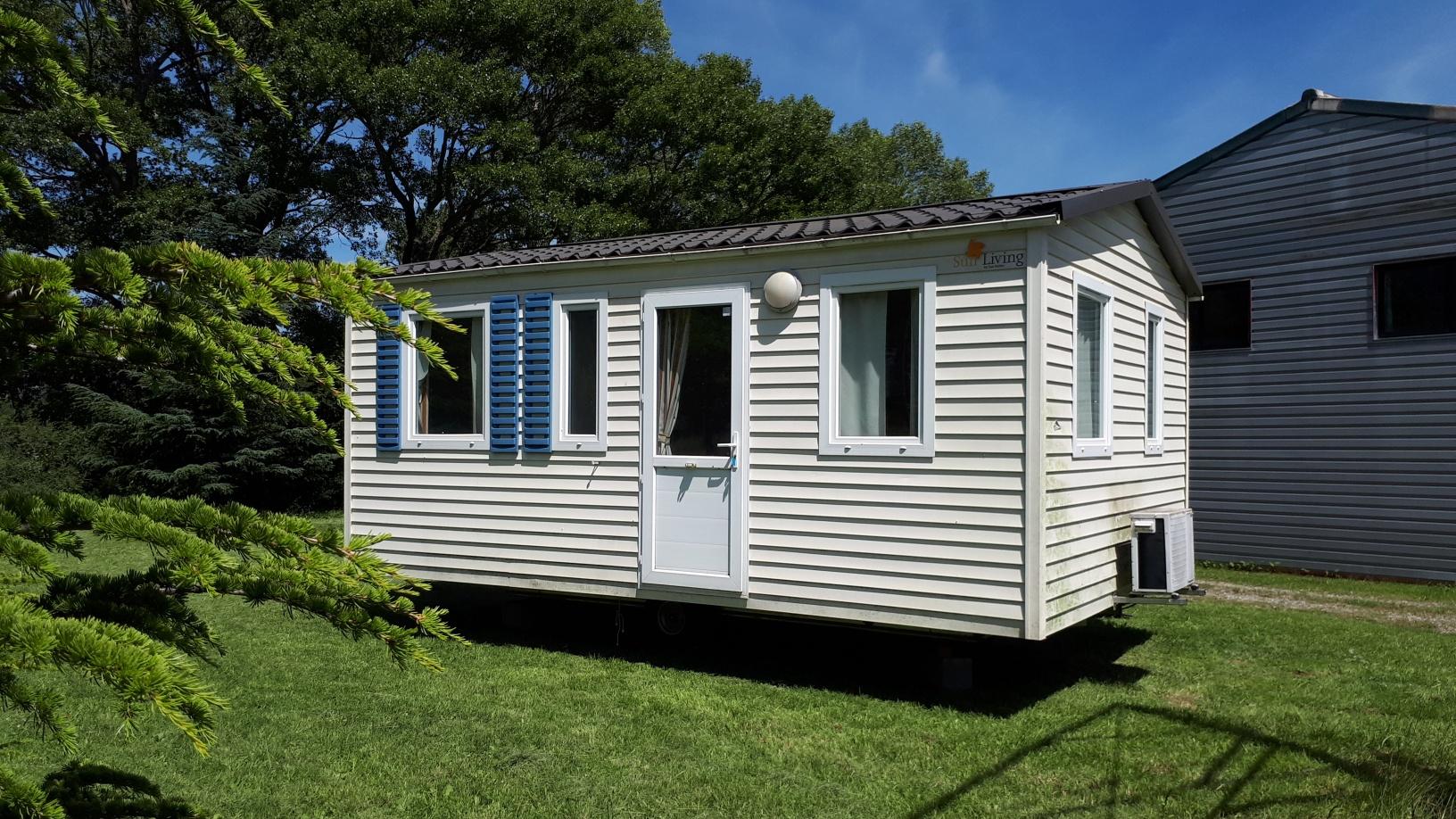 Mobil-home 6 x 4 m – 2 Chambres – Isolé 4 saisons – Climatisé