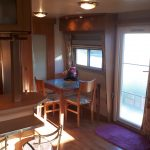 Mobil-home 4 saisons – panoramique – 11x4m – 2 chambres