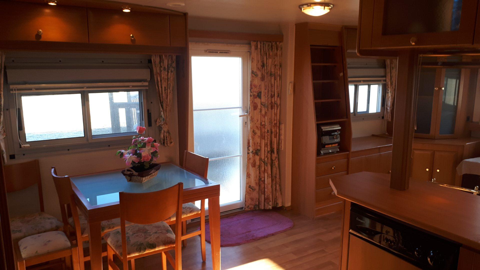 Mobil-home 4 saisons – panoramique – 11x4m – 2 chambres
