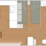 Lousiane Charleston – 40 m² – Isolation 4 saisons
